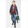 Bikkembergs Kids Jeans Used-Look