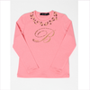 Miss Blumarine Shirt light coral Glitzer B
