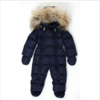 Il Gufo Navy Blue Down Padded Snowsuit