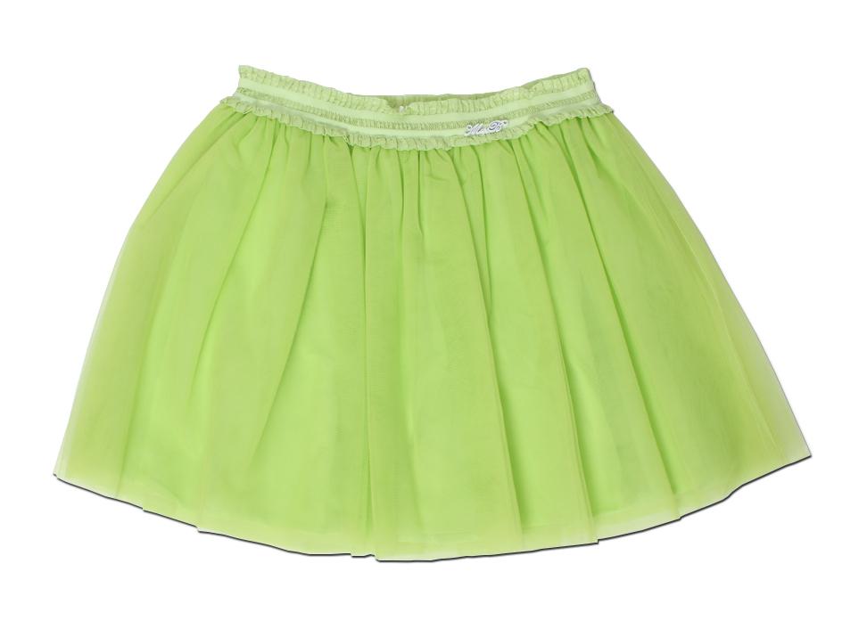 best service d5f27 125d6 Miss Blumarine Tüllrock neon-grün - Exklusive Designermode ...