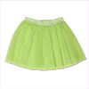 Miss Blumarine Girls Neon-Green Tulle Skirt