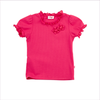 Il Gufo Pink Cotton Jersey Top