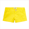 Young Versace Girls Yellow Cotton Shorts