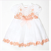 Miss Blumarine Baby Girls Cotton and Lace Dress