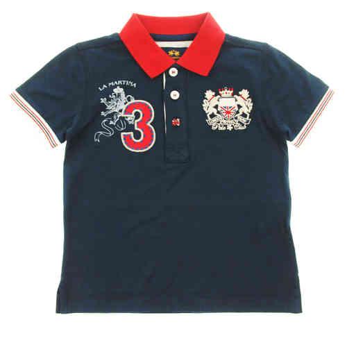 "475e5e216b172 La Martina Boys Navy ""London Royal Park"" Polo Shirt - High quality ..."