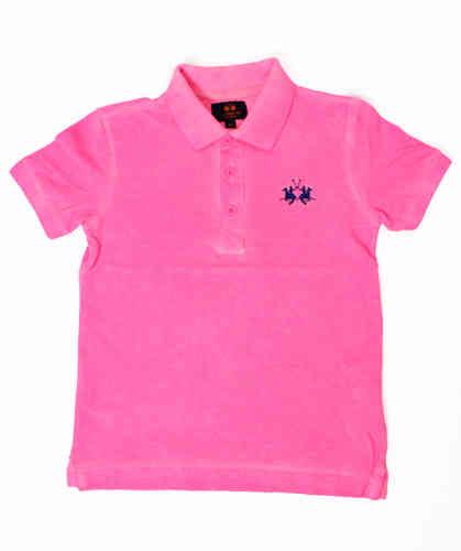 5e83960dc7252 La Martina Jungen Poloshirt neon pink - Exklusive Designermode und ...