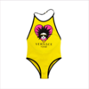 Young Versace Girls Yellow Medusa Swimsuit