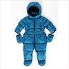 ADD Baby Boys Blue Down Padded Snowsuit