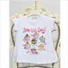 ELSY Baby White T-Shirt with Diamante Print