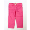 "ELSY Baby 5 Pocket Sommerhose ""Notes"" in pink"