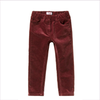 Il Gufo Girls Maroon Velvet Trousers